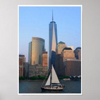 Sommer in New York City Poster