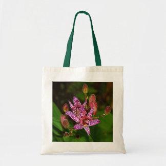 Sommer-Kröten-Lilien-Taschen-Tasche Tragetasche