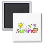 Sommer Kühlschrankmagnete