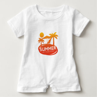 Sommer - leben Ihr Traum Baby Strampler