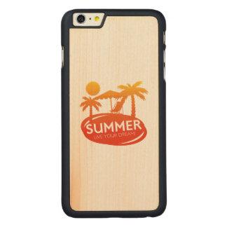 Sommer - leben Ihr Traum Carved® Maple iPhone 6 Plus Hülle