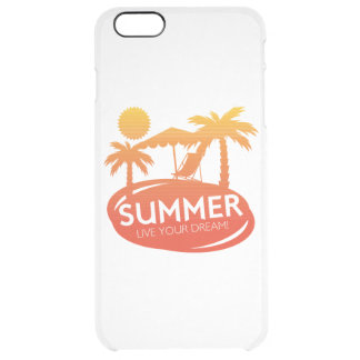 Sommer - leben Ihr Traum Durchsichtige iPhone 6 Plus Hülle