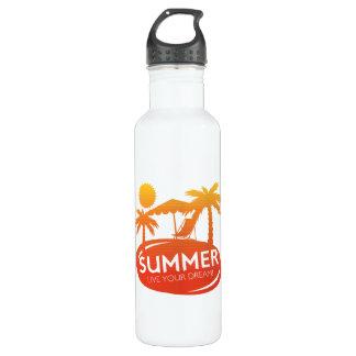 Sommer - leben Ihr Traum Edelstahlflasche