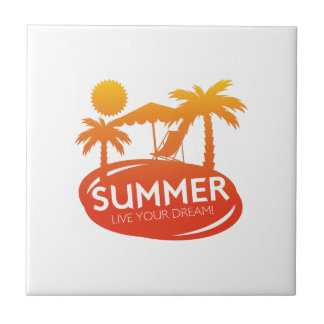 Sommer - leben Ihr Traum Fliese