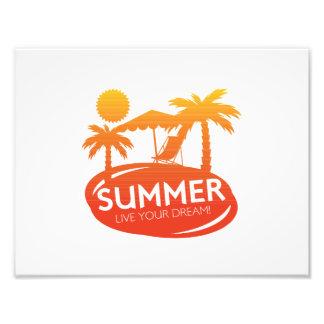 Sommer - leben Ihr Traum Fotodruck