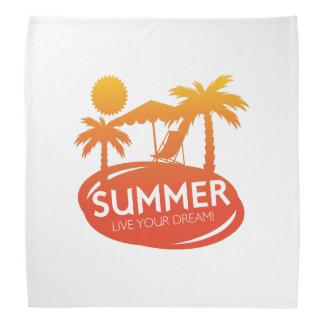 Sommer - leben Ihr Traum Halstuch