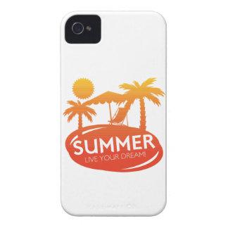 Sommer - leben Ihr Traum iPhone 4 Cover