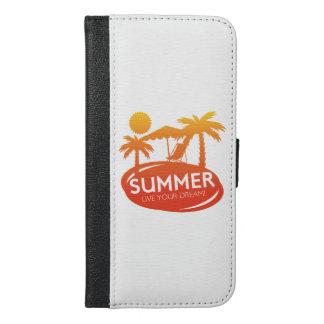 Sommer - leben Ihr Traum iPhone 6/6s Plus Geldbeutel Hülle