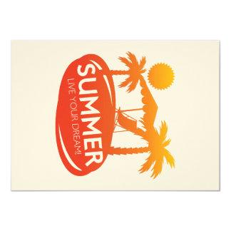 Sommer - leben Ihr Traum Karte