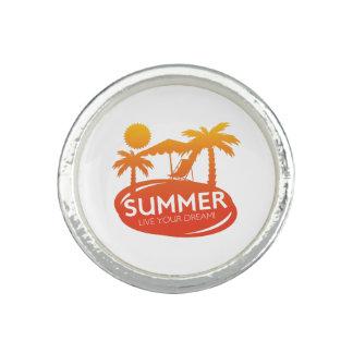 Sommer - leben Ihr Traum Ringe