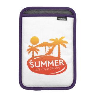 Sommer - leben Ihr Traum Sleeve Für iPad Mini