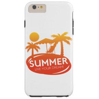 Sommer - leben Ihr Traum Tough iPhone 6 Plus Hülle