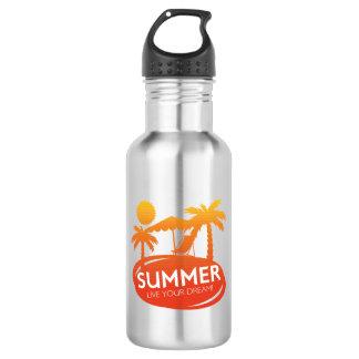 Sommer - leben Ihr Traum Trinkflasche