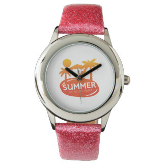 Sommer - leben Ihr Traum Uhr
