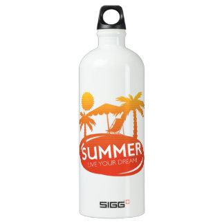 Sommer - leben Ihr Traum Wasserflasche
