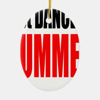 SOMMER-LETZT-TANZ-Nachtpaareinladung erinnern sich Ovales Keramik Ornament