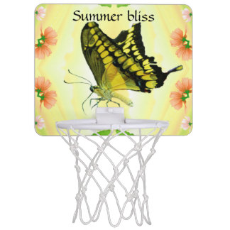 Sommer-Liebeschmetterling Mini Basketball Ring