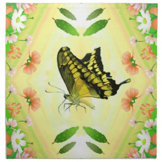 Sommer-Liebhaber-Schmetterling Serviette