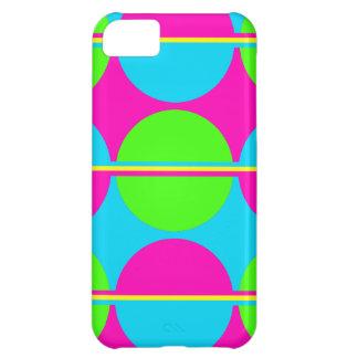Sommer-Limone grüne heißes Rosa-aquamarine iPhone 5C Hülle