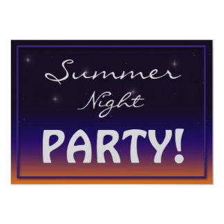 Sommer-NachtParty Einladungen