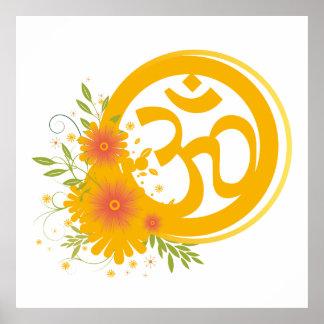 Sommer-OM-Symbol Poster