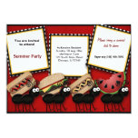 Sommer-Picknick Personalisierte Einladungskarten