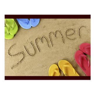 Sommer Postkarte