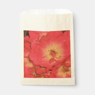 Sommer-Rosen-Bevorzugungs-Tasche Geschenktütchen