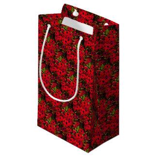 Sommer-Rot-Blumen Kleine Geschenktüte