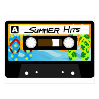Sommer-Schlag-Band Postkarten