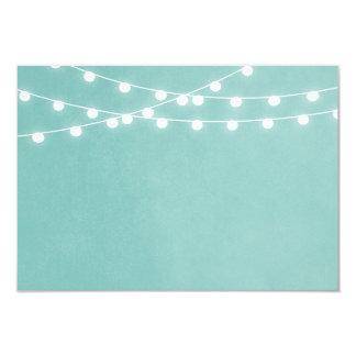Sommer-Schnur-Lichter, die Einsatz-Karte Wedding 8,9 X 12,7 Cm Einladungskarte