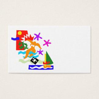Sommer-Schwimmer - Visitenkarte