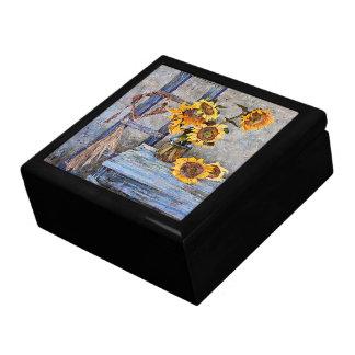 Sommer-Sonnenblume-Blumen-BlumenGeschenkboxen Geschenkbox