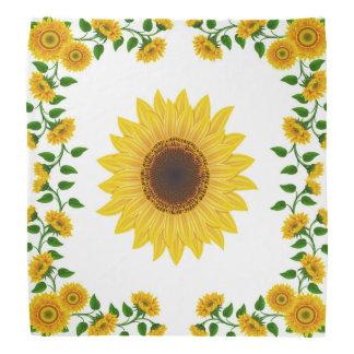 Sommer-Sonnenblume-Schal Halstuch