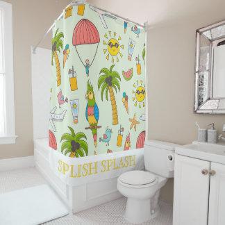 Sommer-Spaß-Duschvorhang Duschvorhang