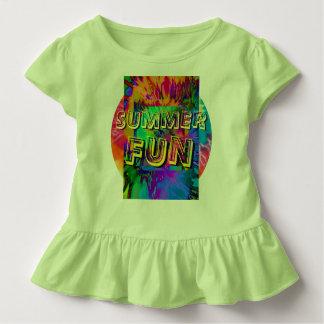 Sommer-Spaß!  Gekräuseltes Kleinkind-T-Stück in Kleinkind T-shirt