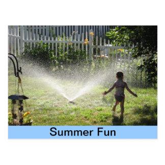 Sommer-Spaß Postkarte