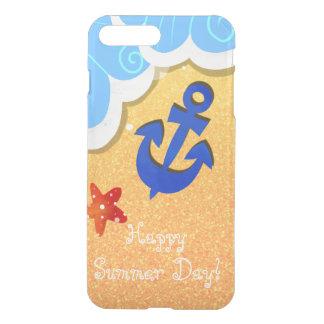 Sommer-Strand iPhone Ablenkerkasten iPhone 8 Plus/7 Plus Hülle