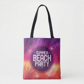 Sommer-Strand-Party-Nacht Tasche