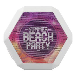 Sommer-Strand-Party-Nacht Weiße Bluetooth Lautsprecher