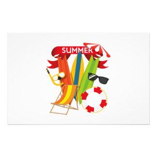 Sommer-Strand Watersports Briefpapier