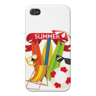 Sommer-Strand Watersports Etui Fürs iPhone 4