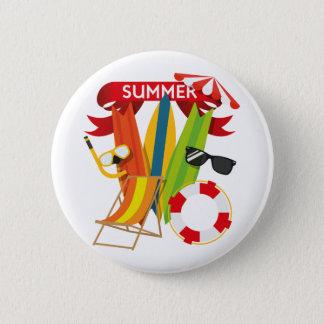 Sommer-Strand Watersports Runder Button 5,7 Cm