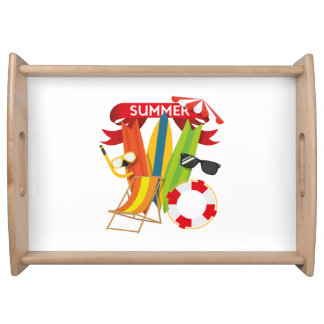 Sommer-Strand Watersports Tablett