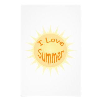 Sommer Sun Briefpapier