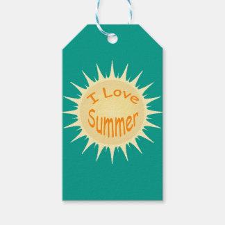 Sommer Sun Geschenkanhänger