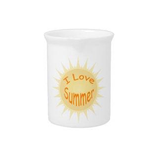 Sommer Sun Getränke Pitcher