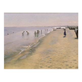 Sommer-Tag am Südstrand von Skagen, 1884 Postkarten