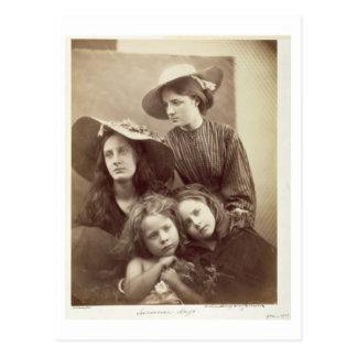Sommer-Tage, c.1866 (Albumendruck von einem Postkarte