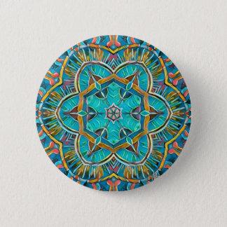 Sommer-Thema-Kaleidoskop Runder Button 5,1 Cm